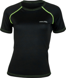 T-shirt do biegania Corsa Lady Fluo